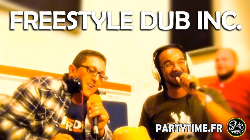 Dub inc en freestyle sur Party Time