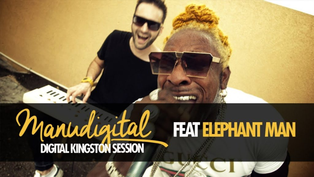ManuDigital & Elephant Man : Digital Kingston Session